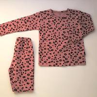 Leopard Pajama Pink 100~130cm