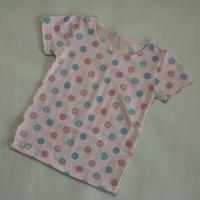 マルチドット Tシャツ Pink 90~120cm