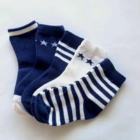 Navy Socks 5足セット 14-16/ 16-18/ 18-22cm