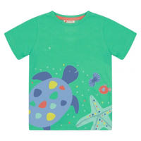 Piccalilly Turtle カメさん Tシャツ 80/ 86/ 92/ 98/ 104/ 110/ 116cm