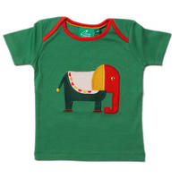 Little Green Radicals Starry Eyed Elephant アップリケT 86/ 92/ 98cm