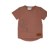wild island Apparel The Dreamer T 半袖 Dusty Pink 92㎝/ 100cm/ 108cm/ 115cm/ 120cm/ 125cm/ 130cm