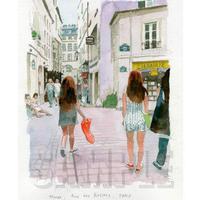 Marais Rue des Rosiers MA017