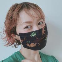 マスク  レオパード Nach bijoux x Feline&Leo