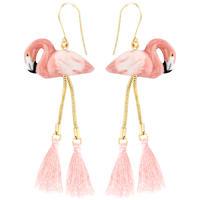Flamingo with PONPON ピアス NACH