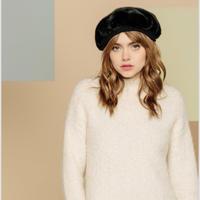 ファーベレー帽  ブラック LA SEINE ET MOI