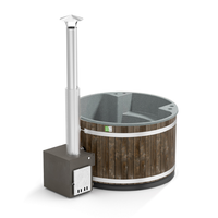 HOT TUB Comfort Family Cole Black / Stone Gray