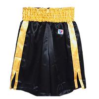 Winning Boxing Pants, Trunks long type Black × Gold F-5-G
