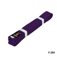 ISAMI Made in JAPAN Karate, BJJ, Other Martial arts Rank Belt obi Purple F-304