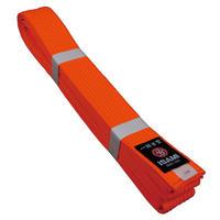 ISAMI Made in JAPAN Karate, BJJ, Other Martial arts Rank Belt obi Fluorescent orange F-315