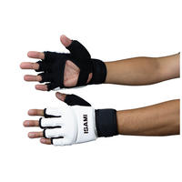 ISAMI Hand guard gloves for Full contact Karate Made in china White TN-1