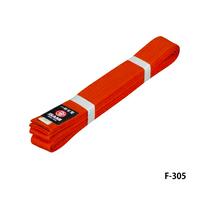 ISAMI Made in JAPAN Karate, BJJ, Other Martial arts Rank Belt obi Orange F-305