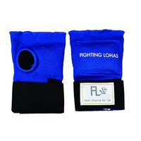 ISAMI FIGHTING LOHAS Knuckle Supporter Hand wrap for women Blue L-370BL