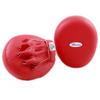 Winning Boxing Punching mitts Soft type Red CM-50