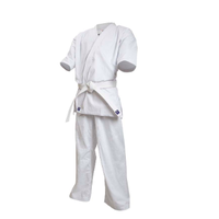 ISAMI Made in China bleaching Karate gi dogi for Beginners Jacket Pants Belt set K-25