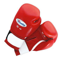 Winning Boxing gloves amateur training gloves Velcro tape type 10oz Blue / Red AM-10