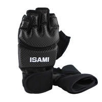 ISAMI Hand guard gloves for Full contact Karate Made in china Black TN-1BK
