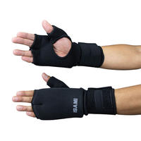 ISAMI Fist supporter Integrated wrist guard / Black / L-320