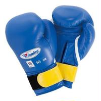 Winning Boxing gloves Junior amateur competition gloves Velcro tape type 10oz Blue / Red U15-10
