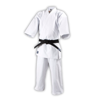 ISAMI Made in JAPAN Bleaching Karate gi dogi for Full contact Jacket Pants set K-450