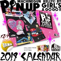 M.ケリー ピンナップ・ガールズ・ア・ゴー・ゴー!! 2019カレンダー