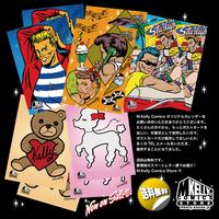 マシンガン・ケリー・コミックス オリジナル・ポストカード 5種類(各2枚)10枚セット