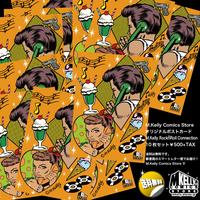 マシンガン・ケリー・コミックス オリジナル・ポストカード ロックンロール・コネクション 10枚セット