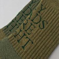 TEXT : Moss Green (merino wool)
