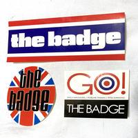 THE BADGE (ザ・バッヂ) ステッカー3枚セット