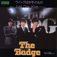 THE BADGE『ウィンクはお手のもの/Just One Kiss』7inchアナログレコード