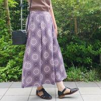 17℃/スカート風パンツ/オリエンタル柄/201804206Z