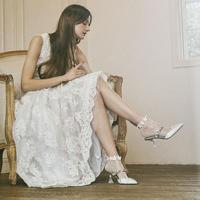 blondoll/スルー/プルメリアモチーフライン/足底綿/201101227