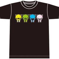 モリもっこり Tシャツ 黒 先行発売