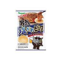 【袋販売】ポテトチップス 男気塩だれビーフ キレキレ黒胡椒 90g
