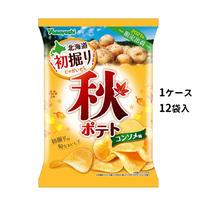 【ケース販売】ポテトチップス 秋ポテト コンソメ味(1ケース:90g×12袋入)