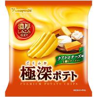 極深ポテト  クアトロチーズ味 50g(1ケース:12袋入)