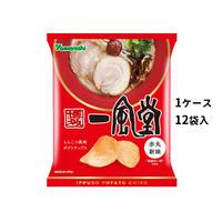 【ケース販売】ポテトチップス 一風堂 赤丸新味(1ケース:48g×12袋入)