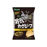 【袋販売】ポテトチップス 男気わさビーフ 100g