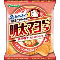 ポテトチップス 明太マヨビーフ 50g