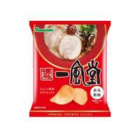 【袋販売】ポテトチップス 一風堂 赤丸新味 48g