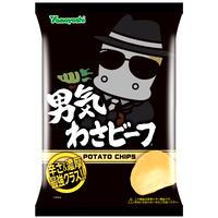 ポテトチップス 男気わさビーフ 100g
