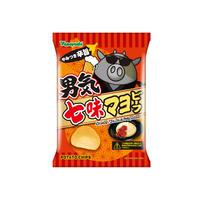 【袋販売】ポテトチップス 男気七味マヨビーフ 90g