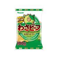 【袋販売】ポテトチップス BIGわさビーフ 100g