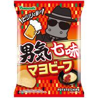 ポテトチップス 男気七味マヨビーフ 90g