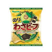 【袋販売】ポテトチップス のりわさビーフ 48g
