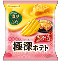 極深ポテト 炙りめんたいチーズ味 52g(1ケース:12袋入)