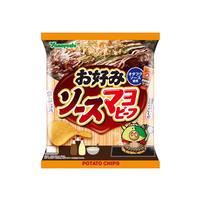 【袋販売】ポテトチップス お好みソースマヨビーフ 48g