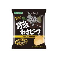 【袋販売】ポテトチップス 男気わさビーフ 50g