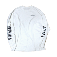 grunge long T-shirts white