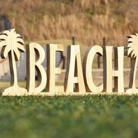 BEACHウッドオブジェ